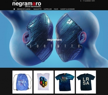 Restyling E-commerce Negramaro Official Merchandise