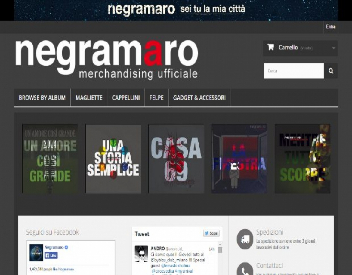 Negramaro Official Merchandise